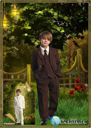 Детский костюм для мальчика - Стильные классические костюмы