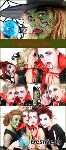 Хэллоуин-растровый клипарт