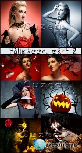 Хэллоуин, часть 2- растровый клипарт