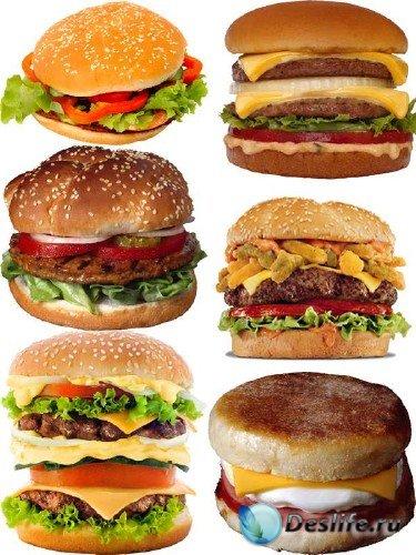 Фаст Фуд: гамбургер, сэндвич, чизбургер, биг-мак