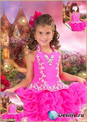 Детский костюм для девочки - В нарядном коротком платье