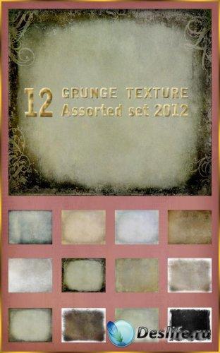 12 - Гранжевых текстур