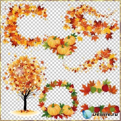 Клипарт  - Золотая осень