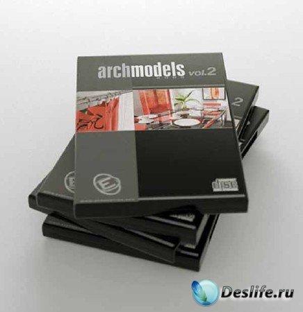 Детали интерьера - Evermotion Archmodels Vol. 2