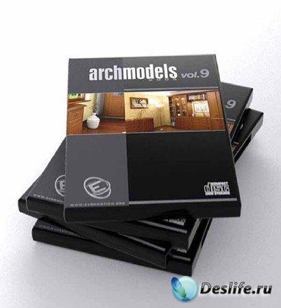 3d модели корпусной мебели - Archmodels vol. 9