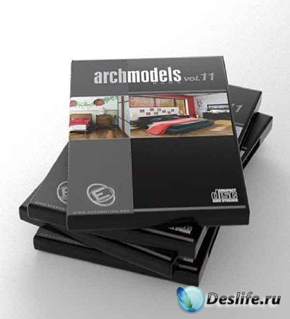 3d модели кроватей - Archmodels vol. 11