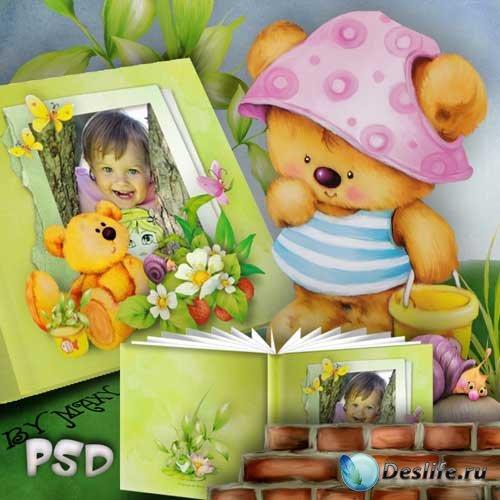 Детские рамки для фотошоп - фотокнига - Книжка с картинками