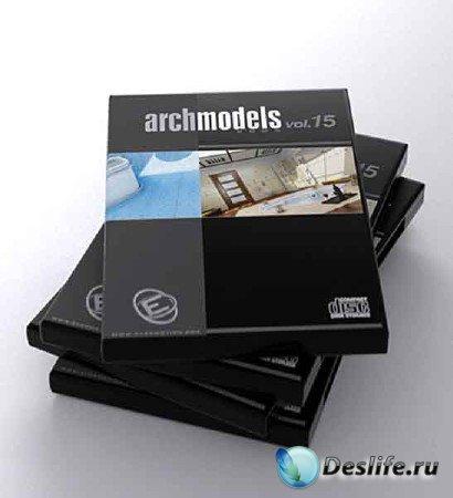 3d модели душевых,  ванных и сантехники - Archmodels vol. 15