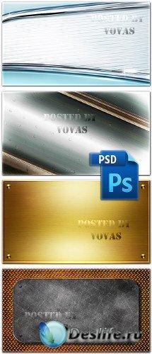Многослойные PSD исходники 45