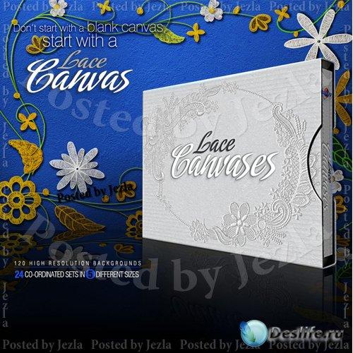 Коллекция фонов - Lace Canvases
