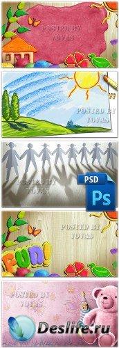 Многослойные PSD исходники 49