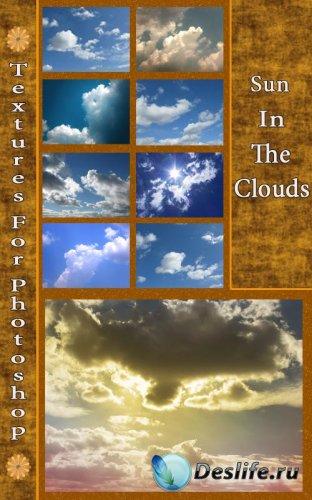 Текстуры - Солнце в облаках