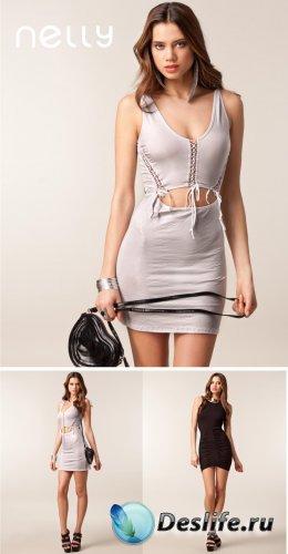 Jacqueline Oloniceva - фотосессия для магазина одежды Nelly