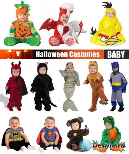 Малыши в костюмах на хэллоуин / Babies in costume on Halloween