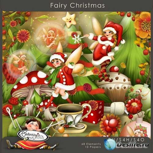 Рождественский скрап-набор - Сказочное Рождество