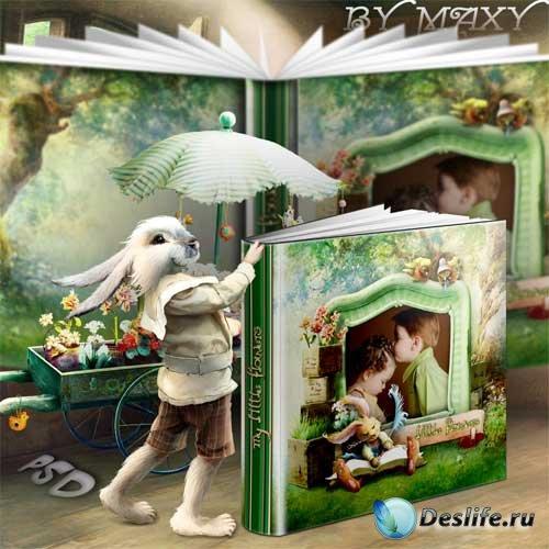 Фотокнига - детский фотоальбом - Наш маленький домик