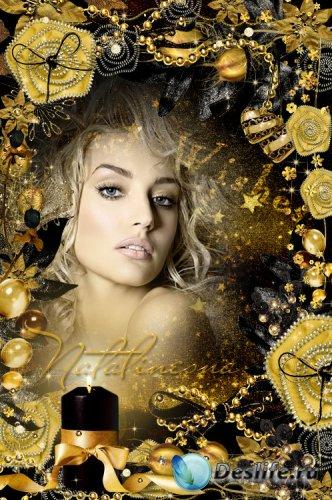 Рамочка для фото  – Благородство Золота тебя преображает
