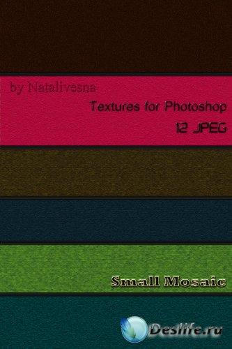 Текстуры для Photoshop – Мелкая мозаика