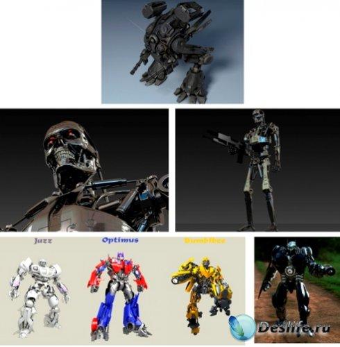 3d Модели Крутых Роботов-Бойцов