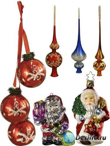 Новогодние елочные украшения и игрушки (часть 1)