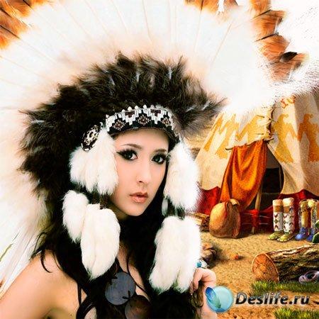 Костюм женский - Прекрасная индианка