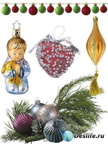 Новогодние елочные украшения и игрушки (часть 2)