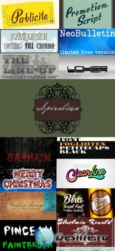 Font Collection 2012-2013