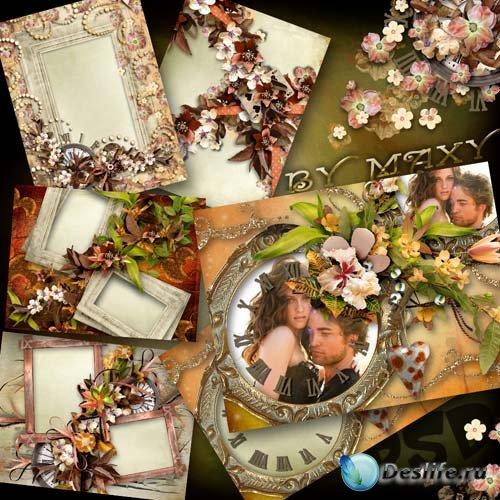 Рамки для фотографий - Любовь и осень
