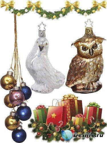 Новогодние елочные украшения и игрушки (часть 4)