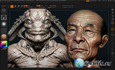 Pixologic ZBrush 4R4 Portable Preactivated