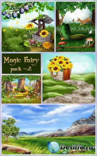 Фоны - Волшебная сказка - 2