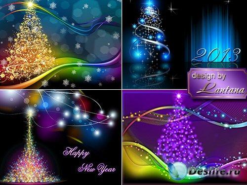 PSD исходники - Новогодняя история 10