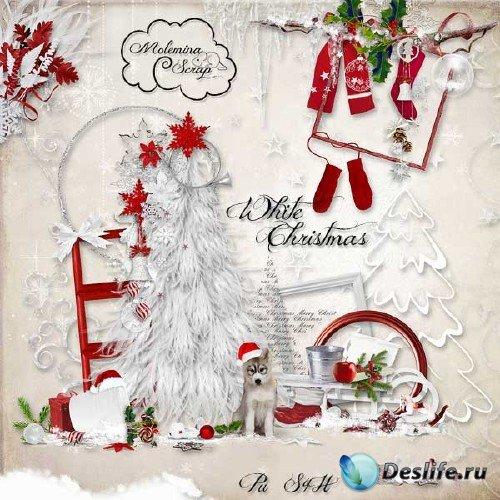 Рождественский скрап-набор - Белоснежное Рождество