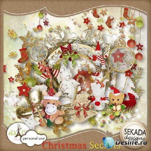 Рождественский скрап-набор - Секреты Рождества