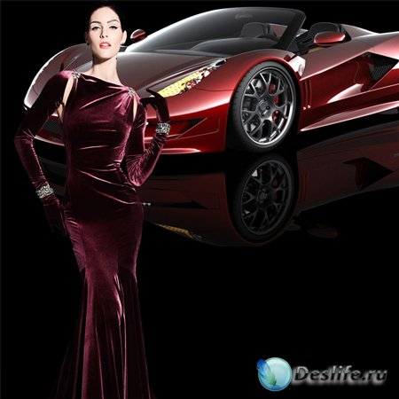Шаблон женский – Авто для любимой