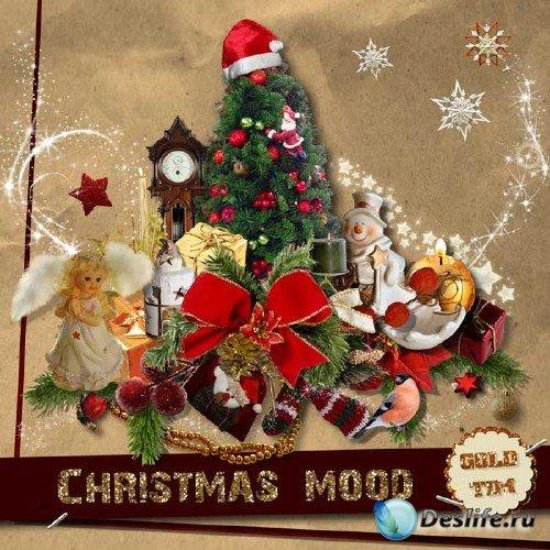 Рождественский скрап-набор - Рождественское настроение