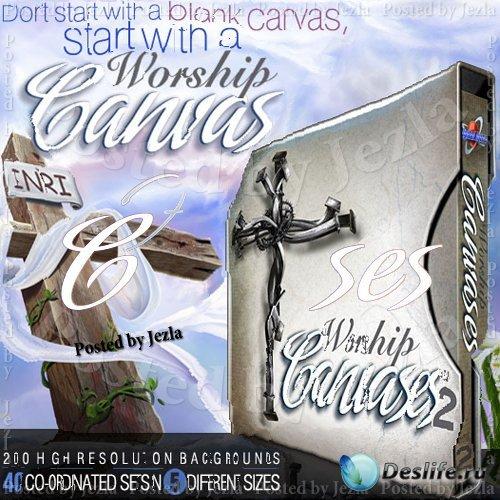 Коллекция фонов - Worship Canvases Collection 2