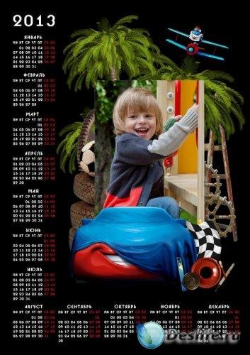 Календарь на 2013 год - Тачки 2