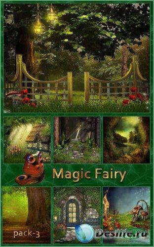 Фоны - Волшебная сказка - 3