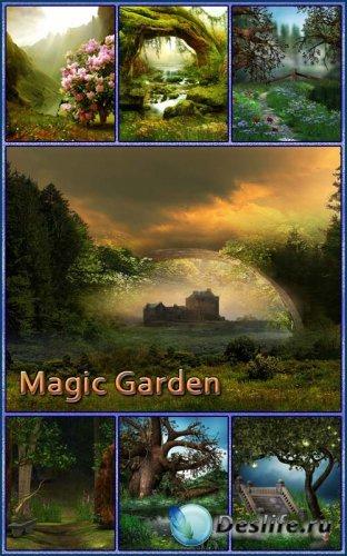 Фоны - Волшебные сады