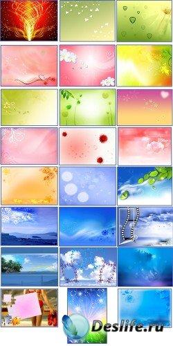 Большой сборник Абстрактных фонов | часть - 1