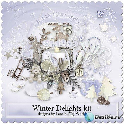 Зимний скрап-набор - Зимний восторг