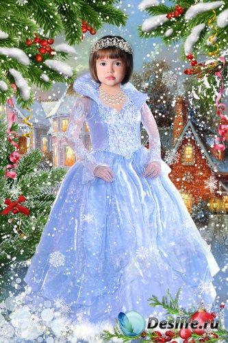 Костюм для Девочки - Волшебница Зима
