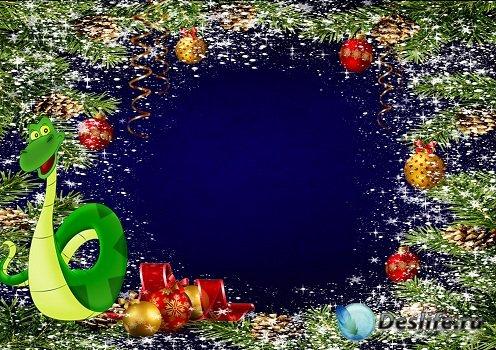 Новогодняя рамка – Волшебный праздник Новый год