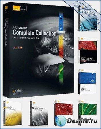 Набор плагинов Nik Software для программ Adobe под Windows