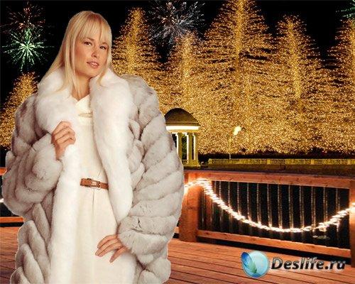 Костюм женский - Сказка новогодней ночи
