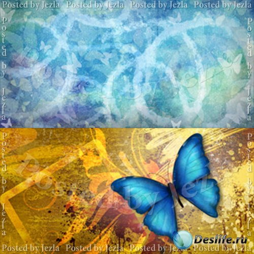 PSD Исходники - Бабочки (Butterfly)