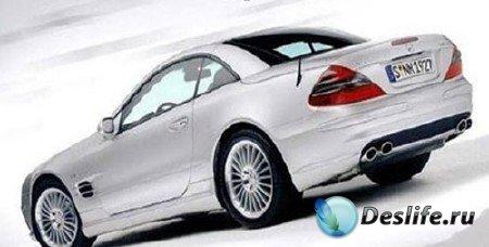 3d модель Mercedes-Benz SL 55 AMG