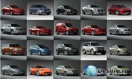 Качественные 3D модели автомобилей
