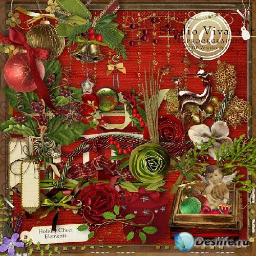 Новогодний скрап-набор - Праздничные овации